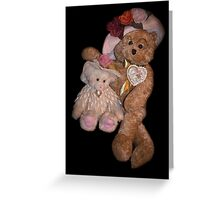Bear Stories:  Hanging Out with Beary Good Friends Greeting Card
