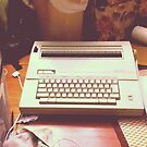 Bertha, the typewriter by teatimewithleen