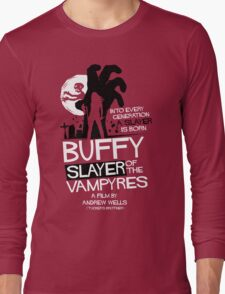 Slayer of the Vampyres Long Sleeve T-Shirt