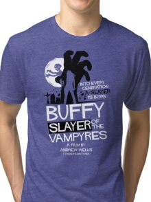 Slayer of the Vampyres Tri-blend T-Shirt