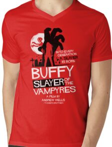Slayer of the Vampyres Mens V-Neck T-Shirt
