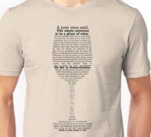 All life is fermentation, Light version Unisex T-Shirt