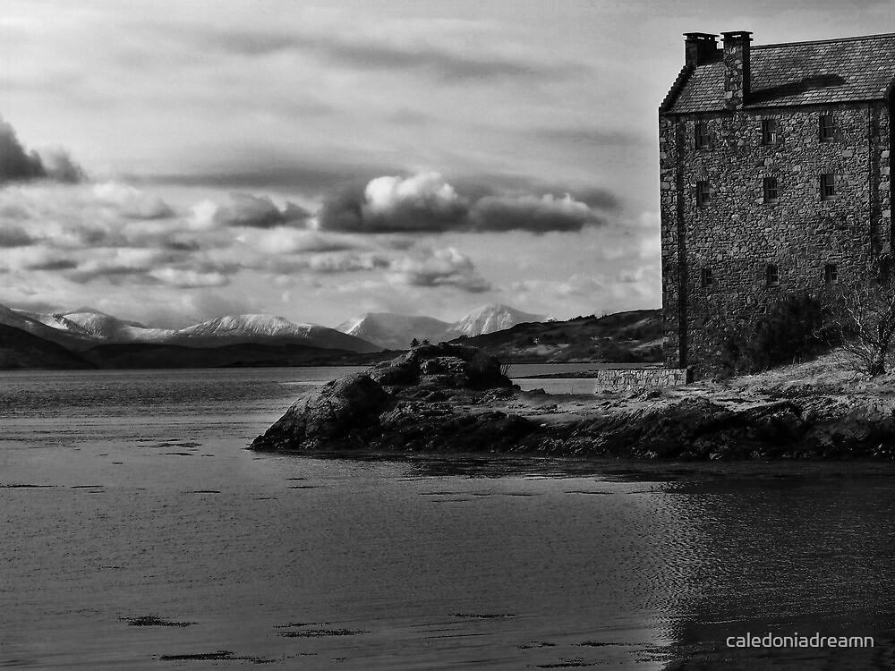 Eilean Donan Castle - Winter Wonderland by caledoniadreamn