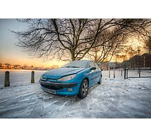 Frosty Peugeot Photographic Print