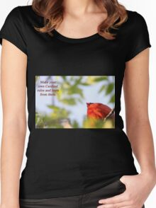 Make your own Cardinal rules and learn from them. Women's Fitted Scoop T-Shirt