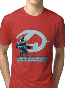 Complaing guy from Halo Tri-blend T-Shirt