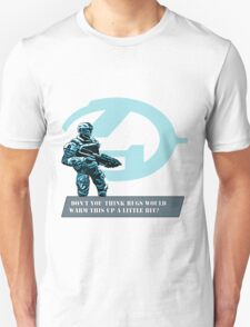 Complaing guy from Halo Unisex T-Shirt