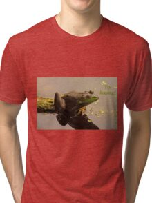 Try Leaping Tri-blend T-Shirt