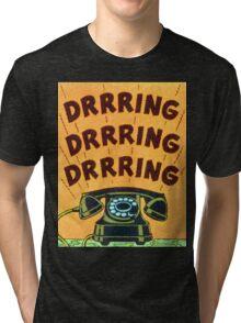 Ringing Telephone Tri-blend T-Shirt