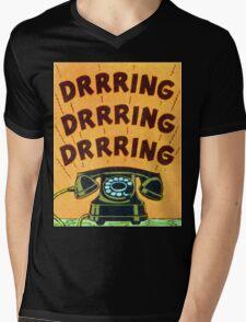 Ringing Telephone Mens V-Neck T-Shirt