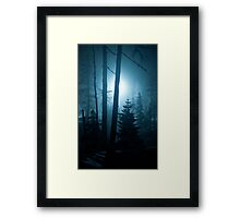 Berguen Blues Framed Print