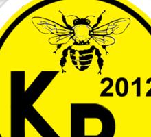 Killerbees 2013 Sticker
