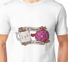 We go together like Coffee and Donuts Unisex T-Shirt