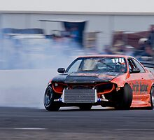 Nissan R33 Skyline drift - Winton Raceway by mcrow5