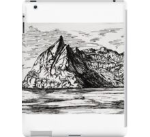 Ink Mountainscape iPad Case/Skin