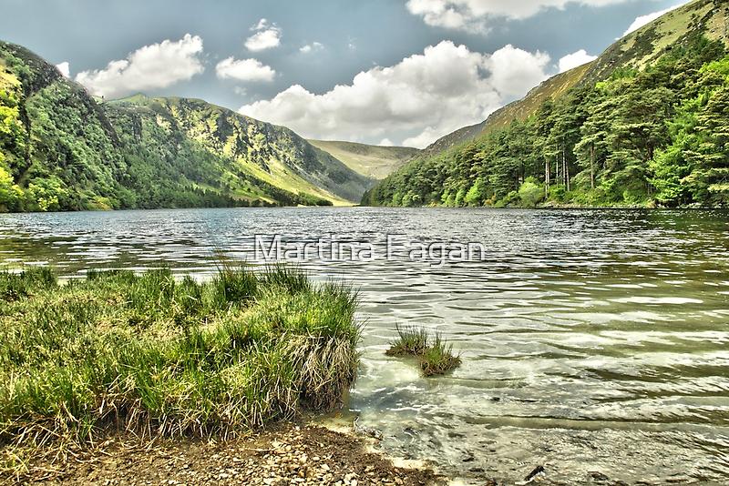 Glendalough Upper Lake  by Martina Fagan