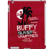 Slayer of the Vampyres iPad Case/Skin