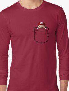 Pocket Mario Long Sleeve T-Shirt
