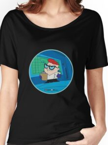 Dexter - Dexter's Laboratory (Production Cel) Women's Relaxed Fit T-Shirt