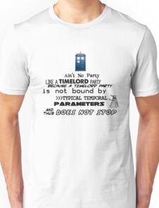 Time Lord Party Unisex T-Shirt
