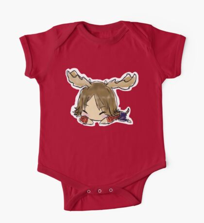 Supernatural: Moose Nap One Piece - Short Sleeve