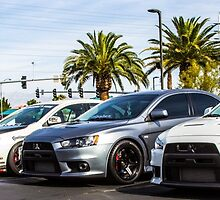 Mitsubishi Roll Call by rawephotography