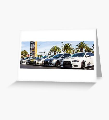 Mitsubishi Roll Call Greeting Card