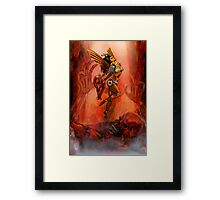 THE THIEF OF HART'S Framed Print
