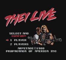 They Live We Game T-Shirt