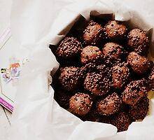 chocolate cookies by Ziva Javersek