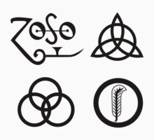 Led Zeppelin IV Symbols by ClessicDobby