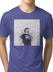Thomas Sanders- Music Tri-blend T-Shirt