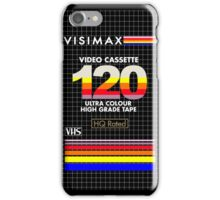 Blank VHS Cover iPhone Case/Skin