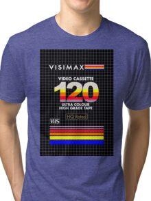 Blank VHS Cover Tri-blend T-Shirt