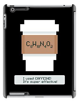 Caffeine is Super Effective by fishbiscuit