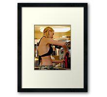 Bakini Barista Framed Print