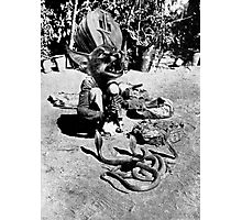 (Poor Thing) Snake Charmer. Photographic Print