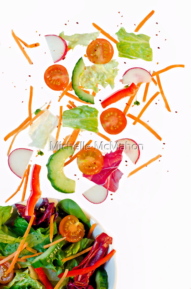 tossed salad.. by Michelle McMahon