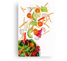 tossed salad.. Canvas Print