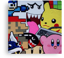 nintendo youth Canvas Print