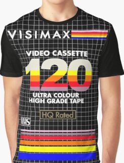 Blank VHS Cover Graphic T-Shirt