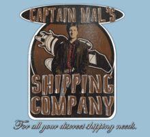 Captain Mal's Shipping Company Kids Tee