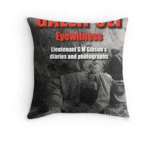 Gallipoli Eyewitness Book Cover Throw Pillow