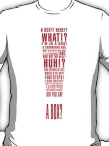 MGS Alert Typography T-Shirt