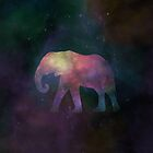 Cosmic Elephant by RainbowCarnagex