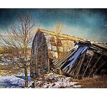 Crash and Burn Photographic Print
