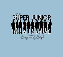 Super Junior: Sexy, Free, & Single Womens Fitted T-Shirt