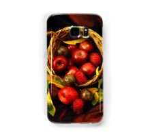 Apple Basket Samsung Galaxy Case/Skin