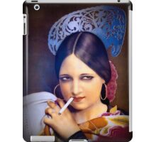 Vintage woman 2 iPad Case/Skin