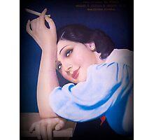 Vintage Woman 3 Photographic Print